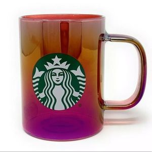 Starbucks Holiday 2019 Red Iridescent Mug Cup 14oz